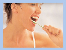 Prevention with brushing teeth
